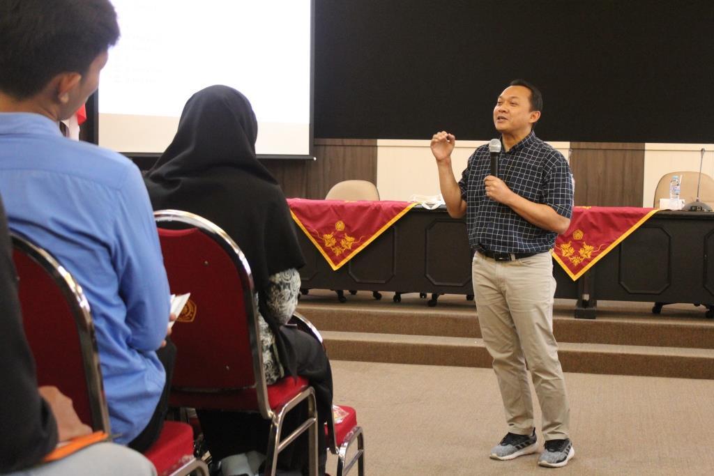 Kuliah Khusus Mahasiswa Prodi Peternakan UMM, Dirut JIF Beri Modal Sembilan Elemen Pemasaran 1