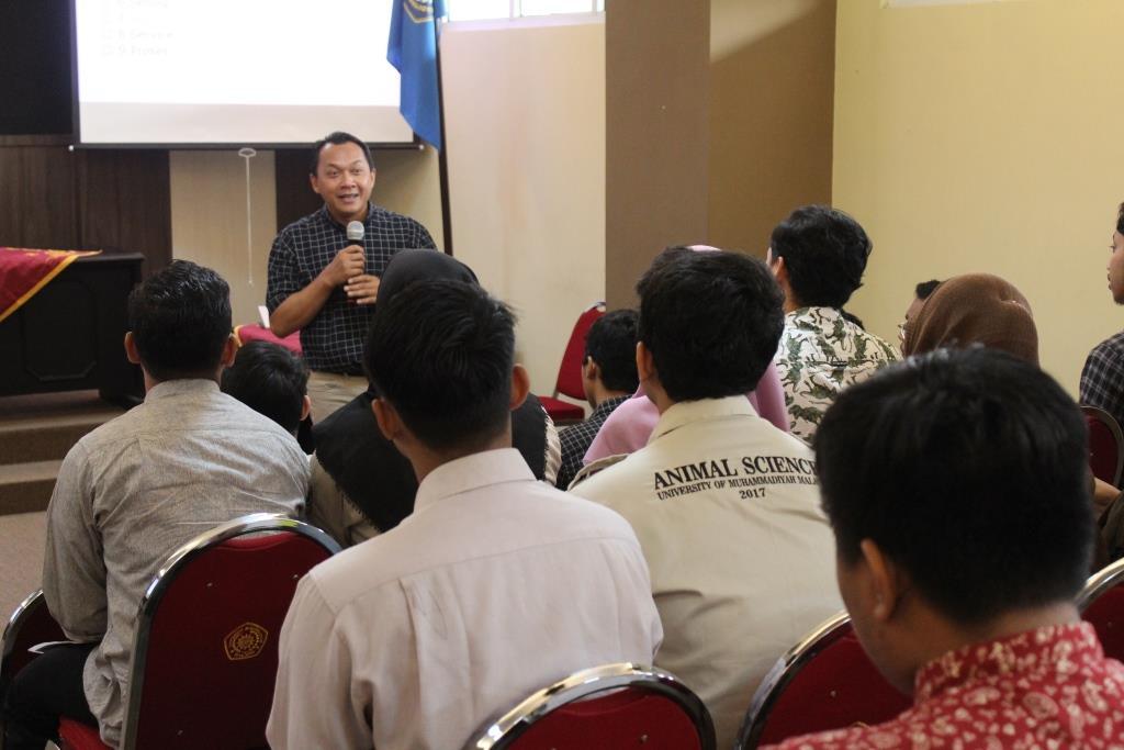 Kuliah Khusus Mahasiswa Prodi Peternakan UMM, Dirut JIF Beri Modal Sembilan Elemen Pemasaran 2
