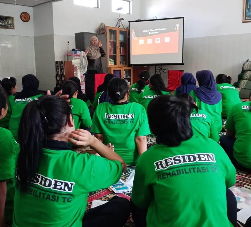 Setelah MoU Kemenkumham, LKBH Aisyiyah Sosialisasi Hukum Warga Binaan Lapas Perempuan 1