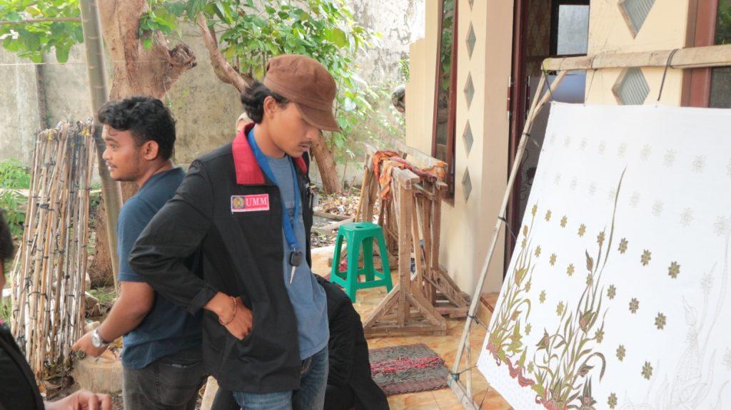 Berguru Pada Tokoh Batik Tenggeran, KKN 34 UMM Serap Ilmu Seni-Budaya Warga Lokal 2