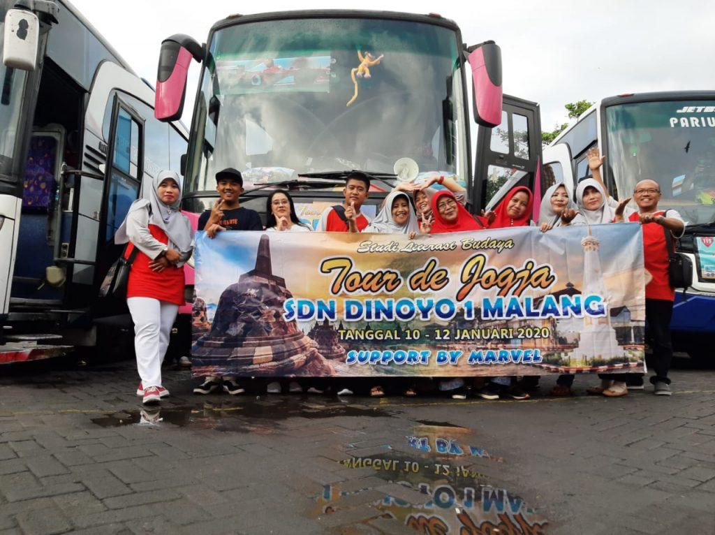 Marvel Tour Amal Usaha MTs Muhammadiyah 1 Kota Malang, Siap Layani Warga Muhammadiyah Pada Muktamar 48 1