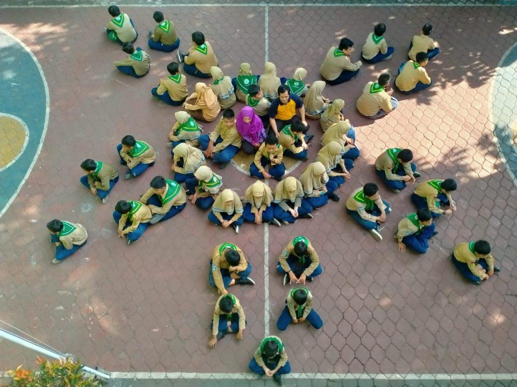 Tryout Kejujuran Formasi Matahari, Simbol SD Mutu Memberi Sinar Prestasi Lingkungan Sekitarnya 1