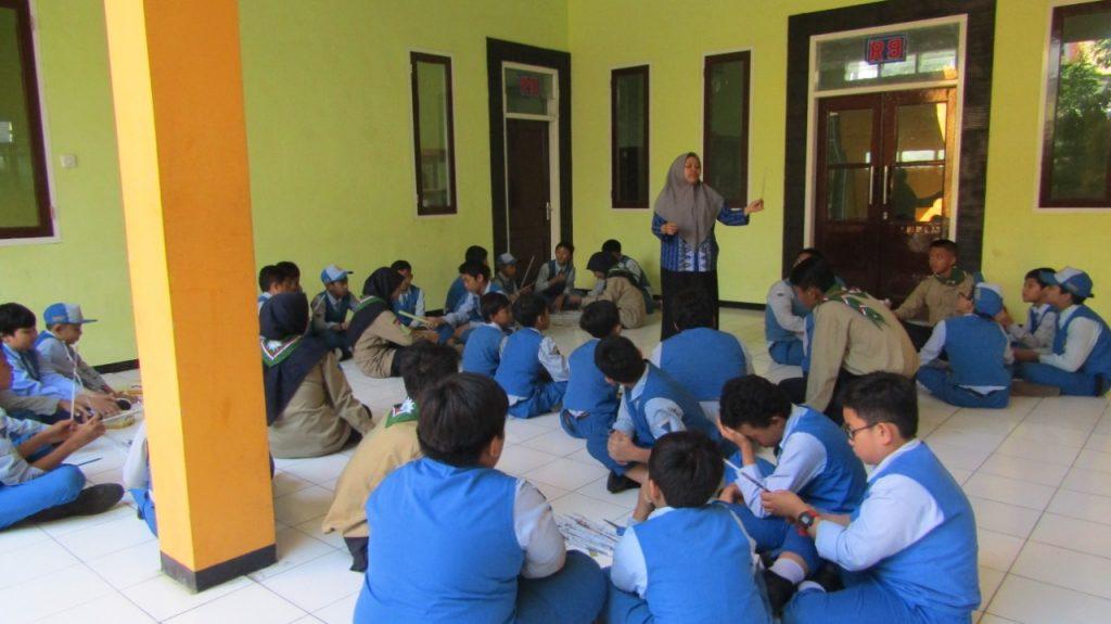 Sehari Bersama SMP Muhasa, Kelas Sains-Orkestra Pikat Hati Siswa Empat Sekolah Dasar 1