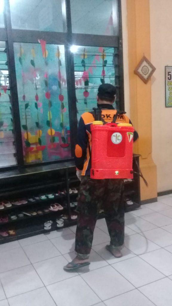 Giliran KOKAM PCM Blimbing, Desinfektan ABA 10 Kota Malang 1