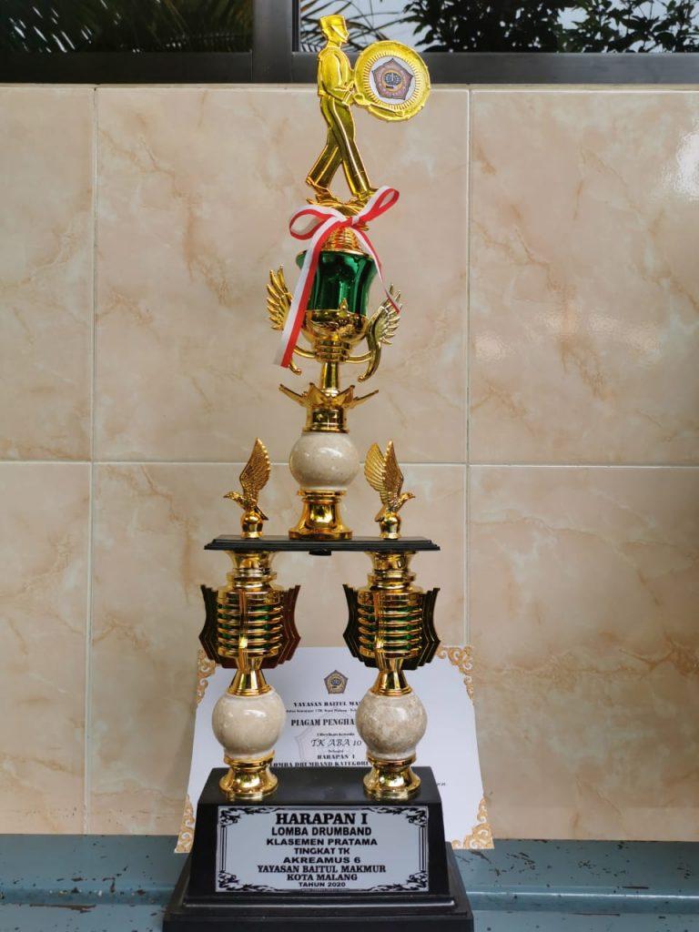 ABA 10 Kota Malang Juara Harapan 1 Drumband Klasemen Pratama 2