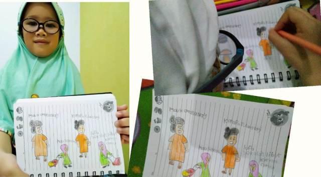 Guru ABA 2 Kota Malang Motivasi Siswanya, Beri Tugas Materi Eksperimental 1
