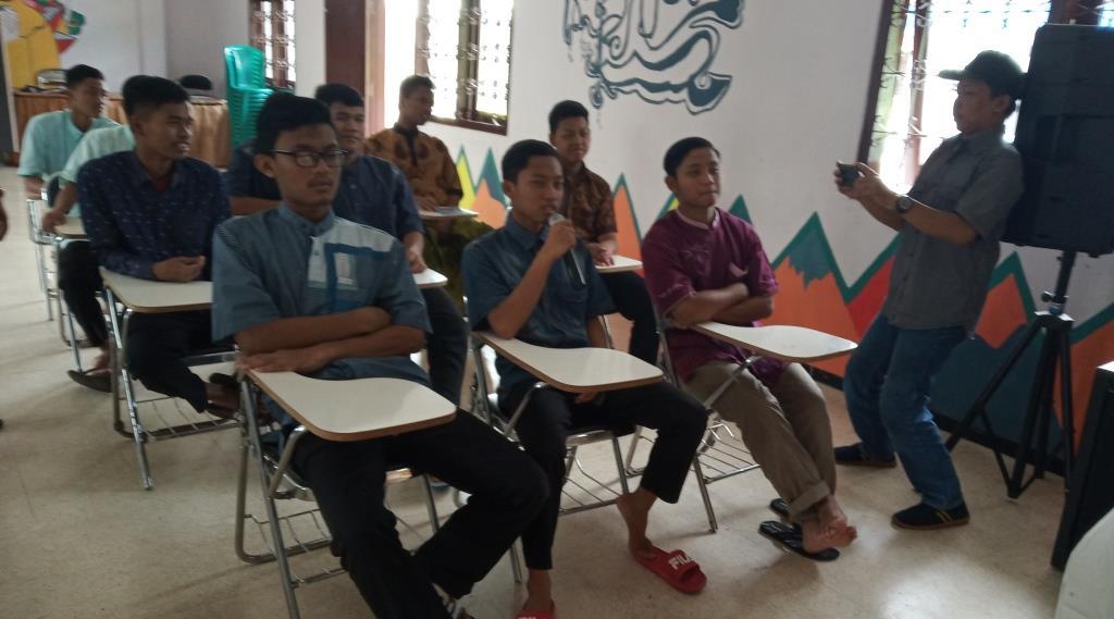 Dari Panti Asuhan Muhammadiyah Bareng, MataHati Ciptakan Wartawan Santri 2
