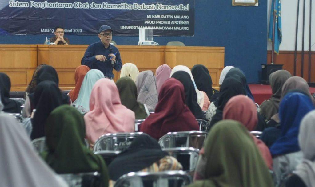 Fikes UMM- IAI Malang Gelar Seminar Paparkan USP41 Pada Apoteker dan Calon Apoteker 1