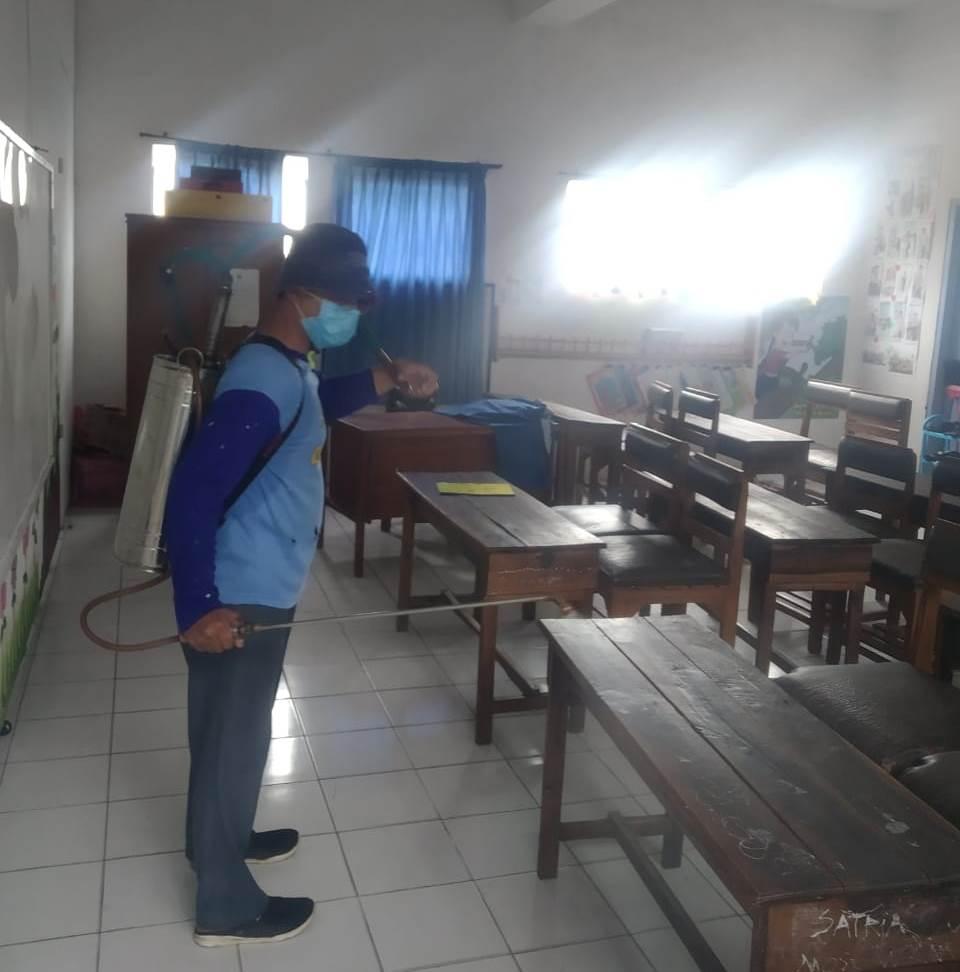 Usai Kecamatan Batu, Tim Foging Tiga Ortom Fokus Desinfektan AUM Wilayah Bumiaji 2