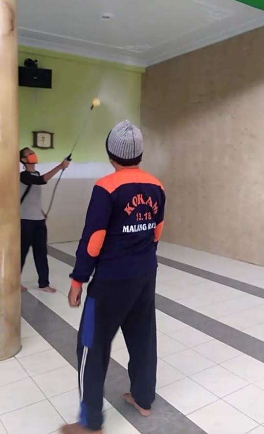 Takmir Masjid CMM-PRA dan PRM Tanjung, Bersatu Lawan Corona Masif Semprot Desinfektan 1
