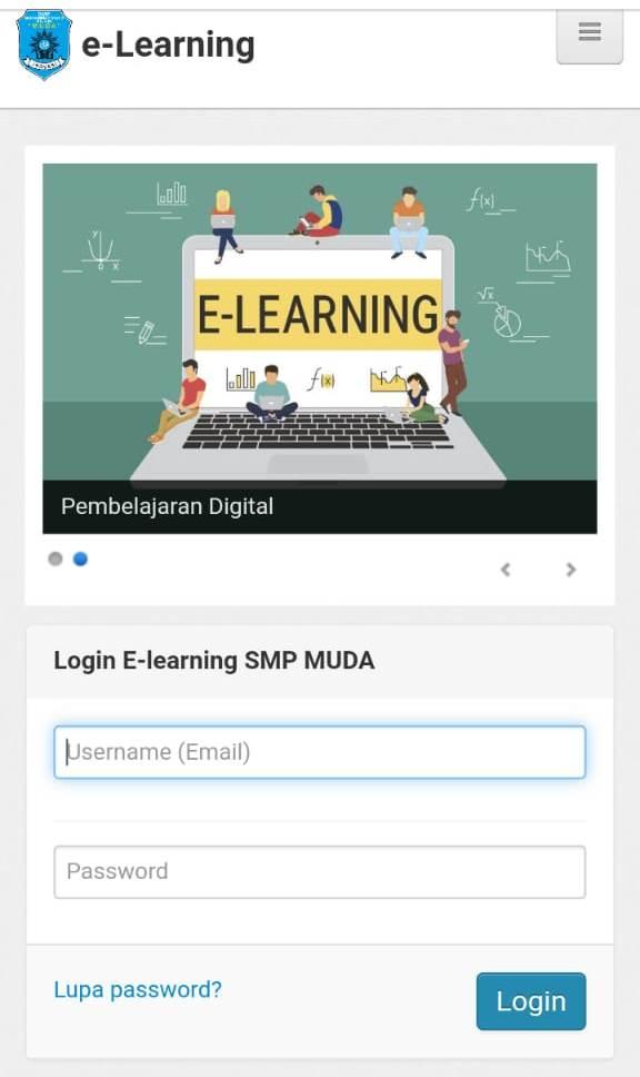 Siswa SMP M2M Belajarnya Online, Sekolah Tugaskan Seorang Guru Sebagai Admin 2