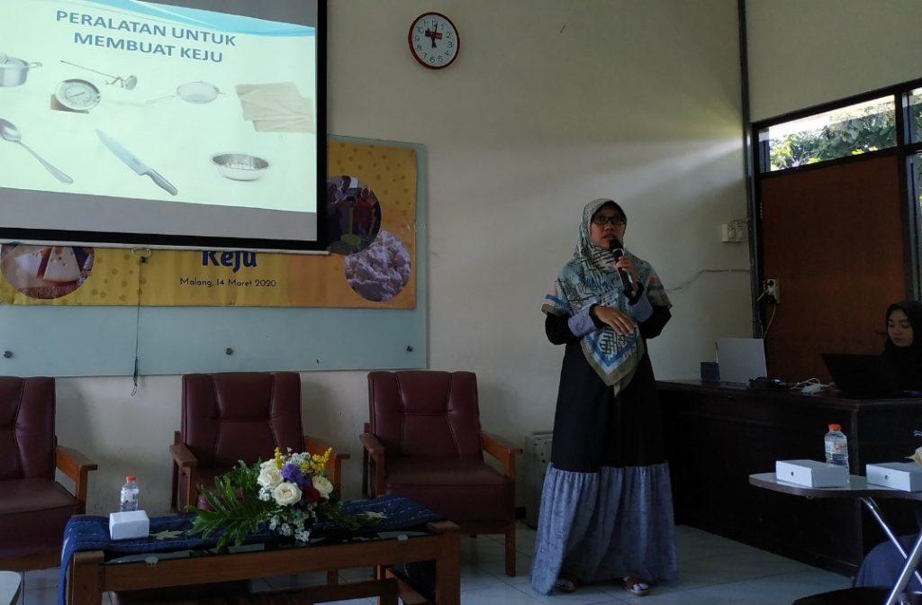 Lab Peternakan FPP UMM Gelar Pelatihan Membuat Keju, Orientasi Bentuk UMKM Olahan Susu 1