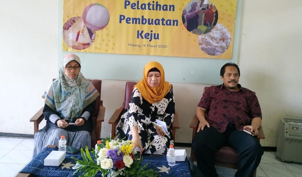 Lab Peternakan FPP UMM Gelar Pelatihan Membuat Keju, Orientasi Bentuk UMKM Olahan Susu 3