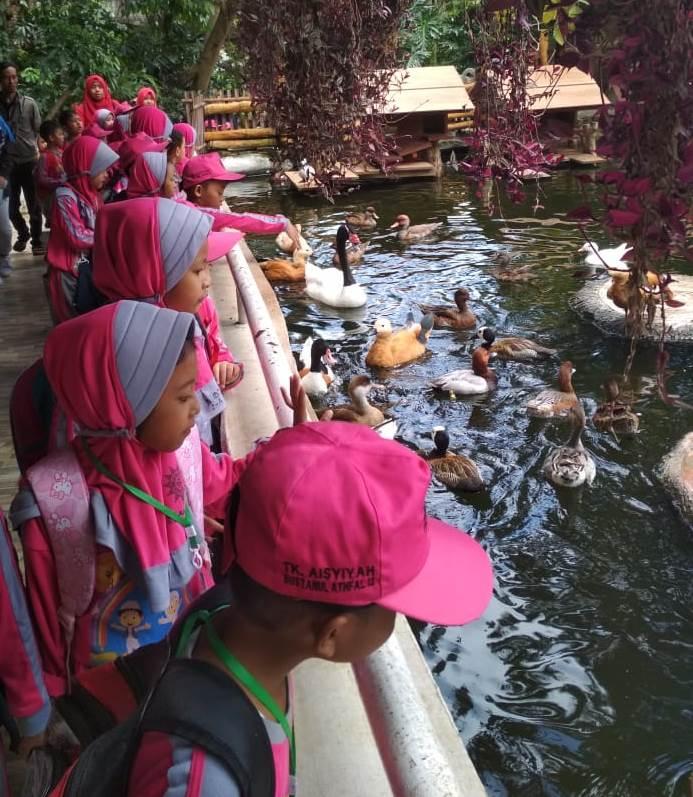 Latih Observasi Hewan, Siswa ABA 13 Kota Malang Kenalkan Sain Melalui Rihlah Ilmiah 1