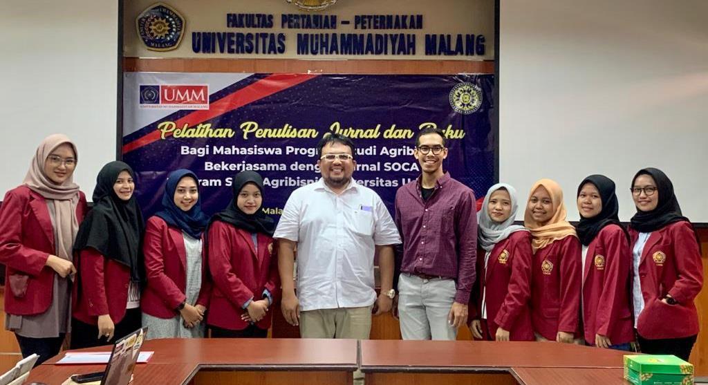 Prodi Agribisnis UMM-Universitas Udayana Latih Menulis Jurnal Mahasiswa Terbit Tanpa Ditolak 1