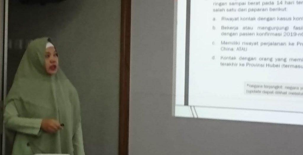 RSI Aisyiyah Malang Pro Aktif, Kumpulkan Karyawan Sosialisasi Penanganan Pasien Suspect Corona 1