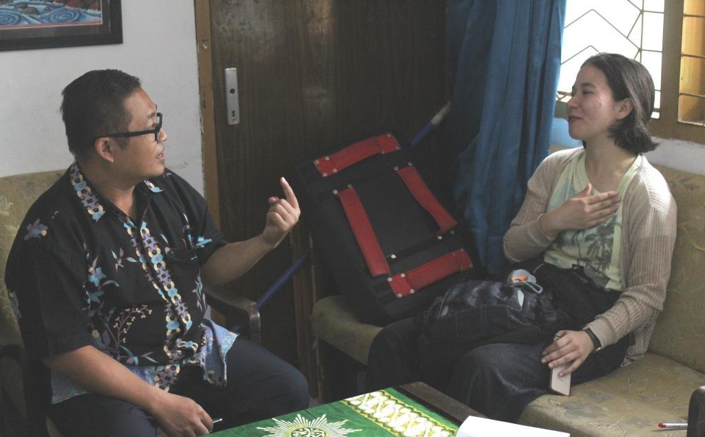 Curhat Emilie Guru Tamu Asal Jepang, Banyak Hal Baik di Matsamutu Membuat Saya Rindu 1