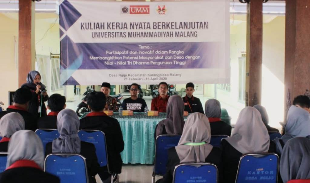 KKN UMM Berkelanjutan Ngijo, Mahasiswa Partisipatif Wujudkan Desa Inovatif 2
