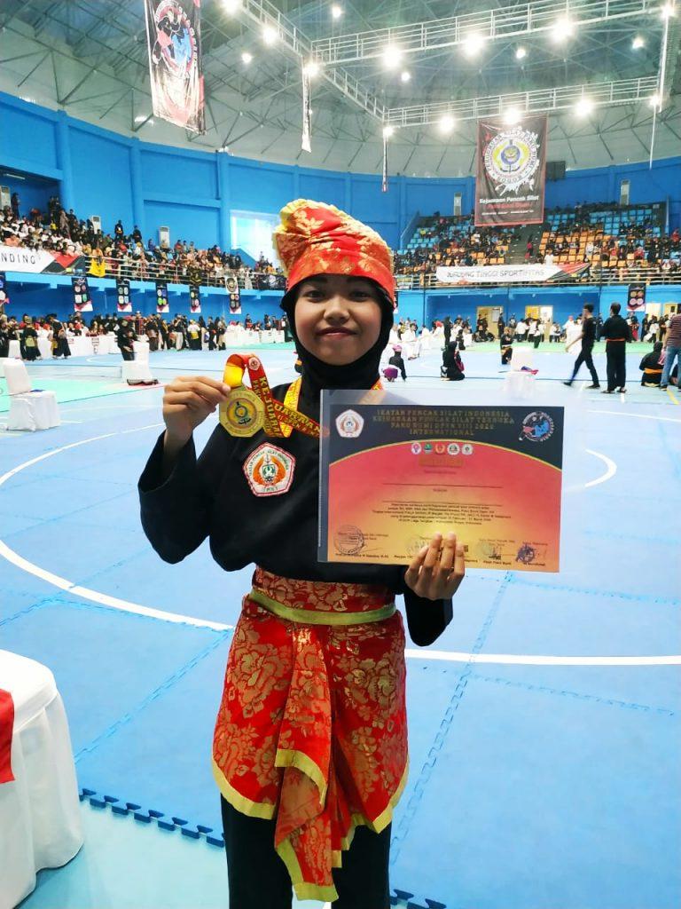 Khairina-Audina Siswa SD Mutu Kota Malang, Sukses Raih Medali Emas Tapak Suci Asia-Eropa 1