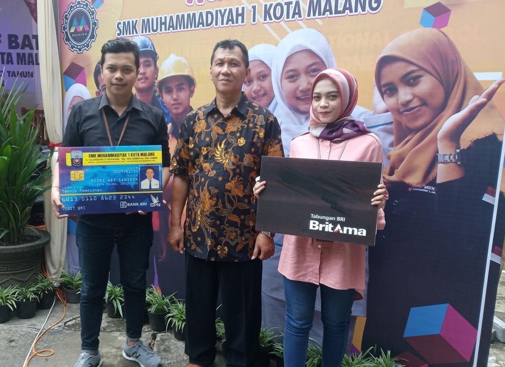 Pertama di Sekolah Malangraya, Kartu Pelajar SMK Muhammadiyah 1 Kota Malang Sekaligus ATM Siswa 1