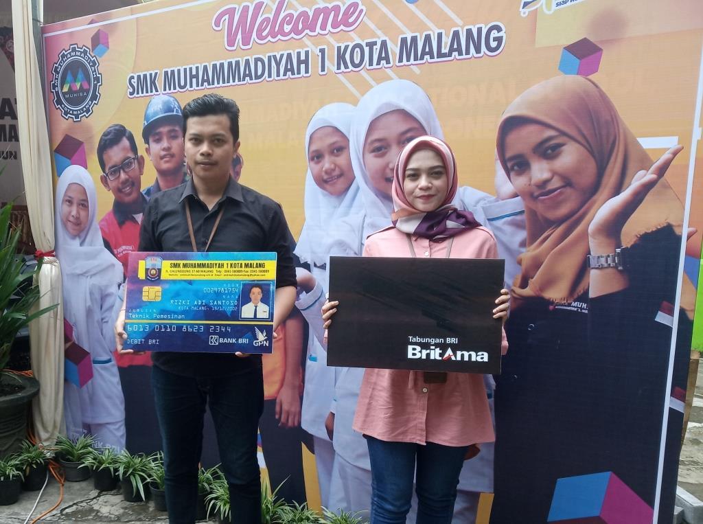 Pertama di Sekolah Malangraya, Kartu Pelajar SMK Muhammadiyah 1 Kota Malang Sekaligus ATM Siswa 2