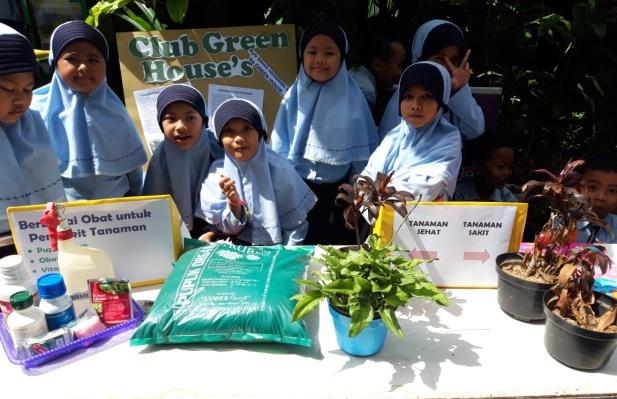 Sukses Raih Adiwiyata Nasional, SD Muhammadiyah 4 Batu Gelar Expo Klub Menuju Adiwiyata Mandiri 1