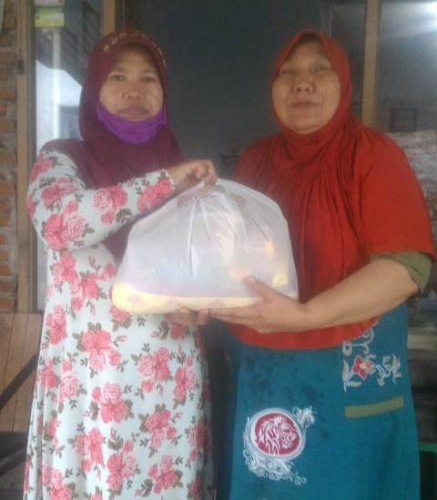 PCA Blimbing Bagikan Ratusan Paket Sembako Pada Dhuafa 2