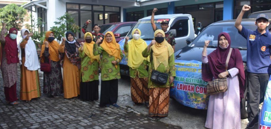 Milad Aisyiyah 106 Tahun, PCA Dau Bagi 250 Paket Sembako 2