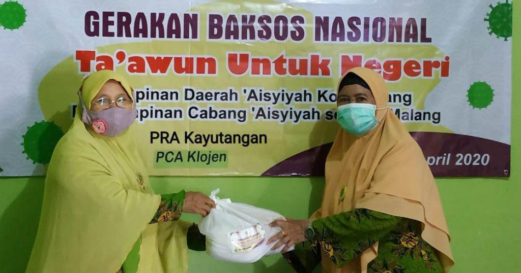 PRA-PCA Klojen Sebar Ratusan Paket Sembako Ta'awun Untuk Negeri Tahap Kedua 1