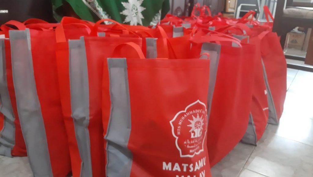 Bantuan Paket Sembako MTs Muhammadiyah 1 Kota Malang Siap Disalurkan 1