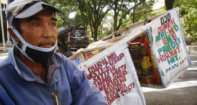 Lazismu Kota Malang Sebar Sembako Pada PKL Sepanjang Jalan Protokol 1