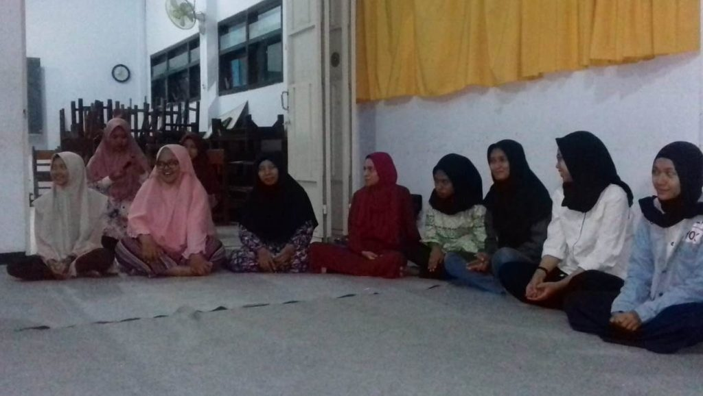 Daring Ramadhan Siswa SMAMSA, Kerjakan Modul Sekolah Tentang Al Islam-Kemuhammadiyahan 2