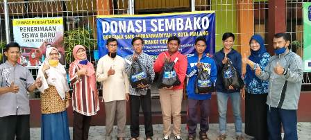 Banjir Dukungan, Donasi Sembako SMK Muda Meluas 1