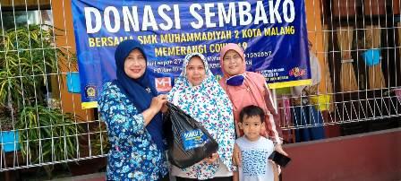 Banjir Dukungan, Donasi Sembako SMK Muda Meluas 2