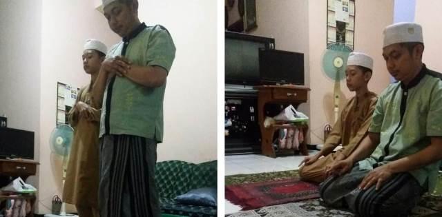 Materi Ibadah Sekolah, Jadi Kebiasaan Meski Siswa SMP M2 Kota Malang Belajar di Rumah 1