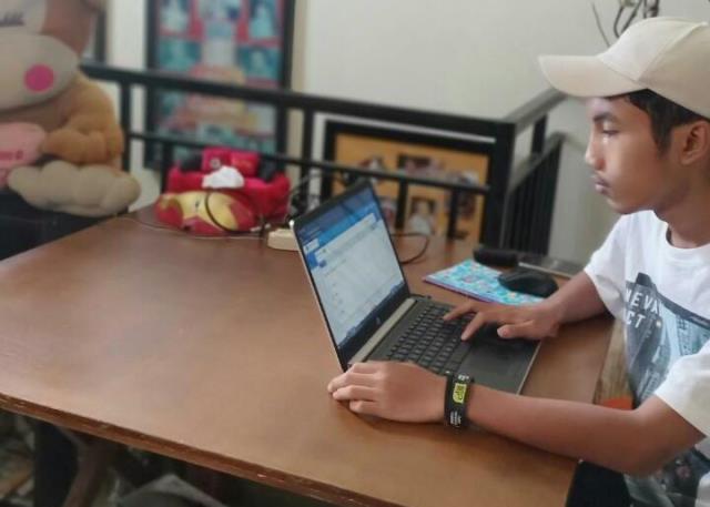 Wali Murid SMP M2 Kota Malang Lega, USBN Terlaksana Hasilnya insyaAllah Unggul Semua 1
