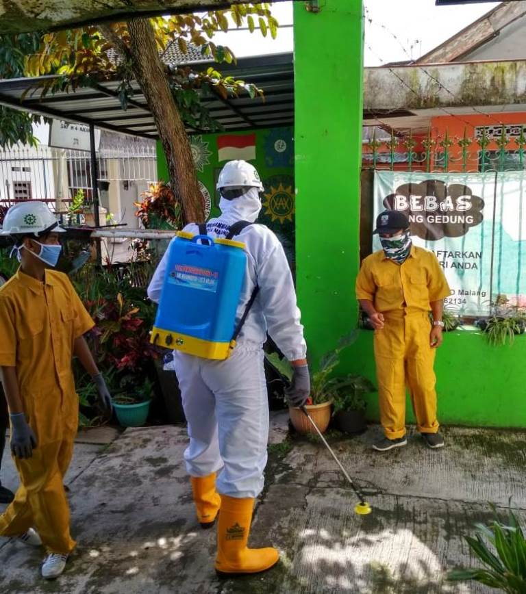 Sudah Steril dan Nyaman, SMP Muhammadiyah 4 Malang Siap Menerima Amanah Pendidikan 1
