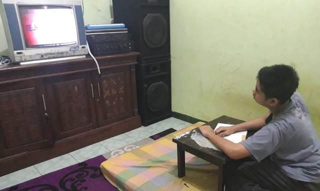 SMP M2 Kota Malang Gabungkan Pembelajaran Sekolah-Chanel TVRI Agar Siswanya Prestasi 1