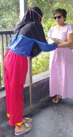 Kader Tapak Suci Kediri Turun Panggung, Kirim Ratusan Sembako Janda Miskin-Korban PHK 2