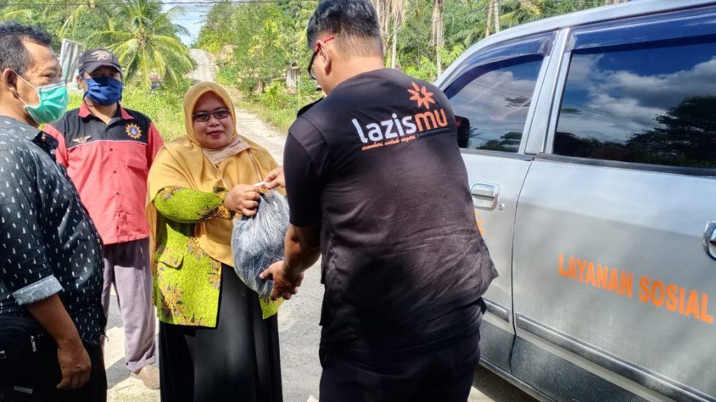 Lazismu Kaltara-PDA Kabupaten Bulungan Bagi 450 Sembako dan 1.200 Nasi Kotak 1