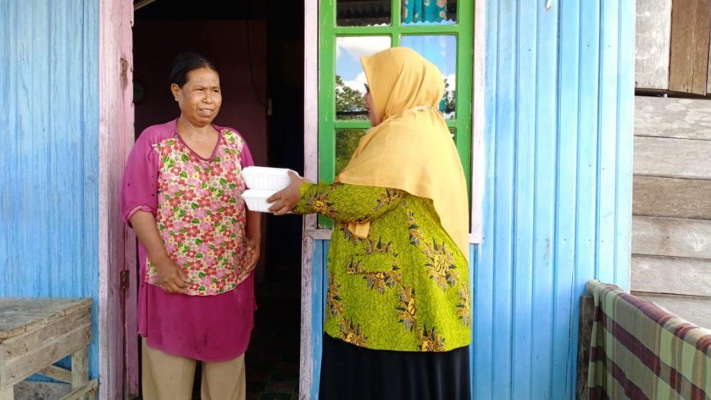 Lazismu Kaltara-PDA Kabupaten Bulungan Bagi 450 Sembako dan 1.200 Nasi Kotak 2