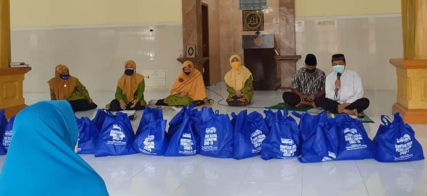 Mamumtaza-PRA Tlogomas Ta'awun Sosial Sembako dan Bantuan Uang Tunai 1