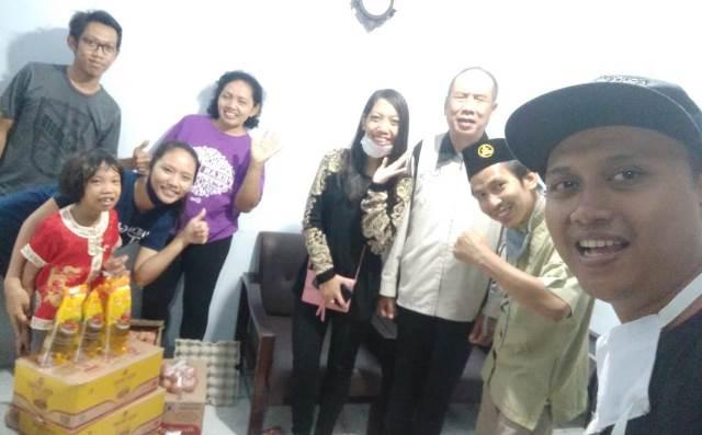 PCPM Wajak-PDPM Kabupaten Malang Bantu Tuna Netra Puluhan Paket Sembako 1