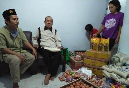 PCPM Wajak-PDPM Kabupaten Malang Bantu Tuna Netra Puluhan Paket Sembako 2