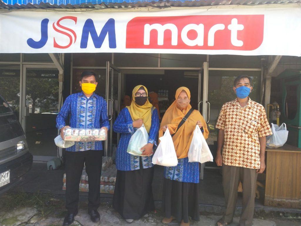 Jelang Lebaran Guru Amal Usaha Muhammadiyah Kota Tarakan Serbu JSM Mart 1