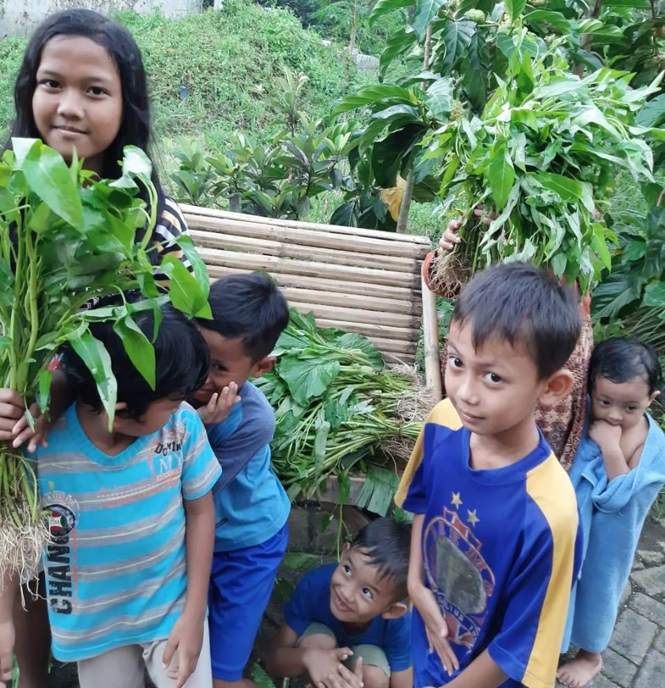 Harkitnas Ala Teras Literasi, Berbagi Sayur Petani Menuai Apresiasi 1