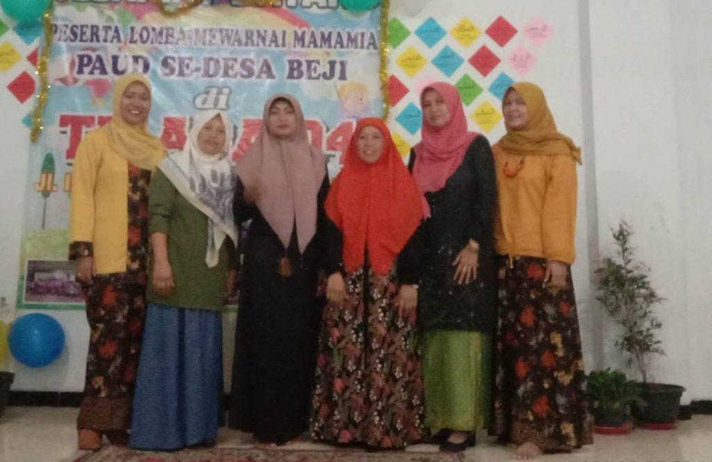 OHM ABA 4 Batu Raih Simpati Mama Desa Beji, Sudah Sekolah Saja di Sini 2