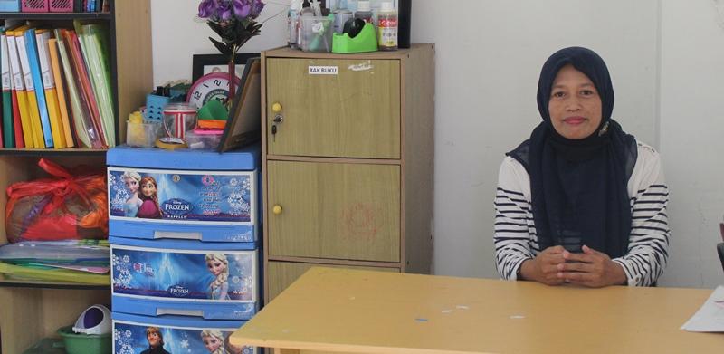 OHM ABA 4 Batu Raih Simpati Mama Desa Beji, Sudah Sekolah Saja di Sini 1