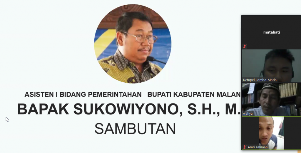 Asisten I Pemkab Malang, Puji Pemuda Muhammadiyah Gelar Lomba Poster Tematik Lawan Covid 1