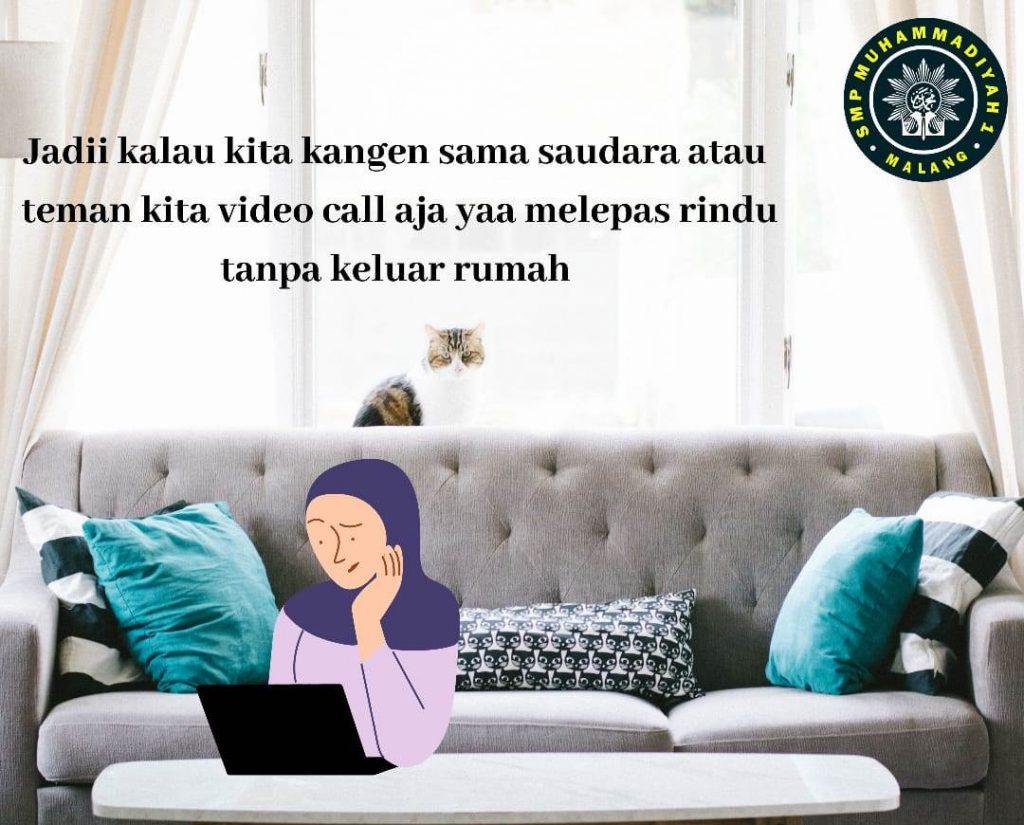Melalui Poster-Komik Cerita, Siswa Muhasa Unjuk Karya Ucapan Idul Fitri 2